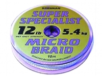 Fir textil Drennan Super Specialist Micro Braid 10m