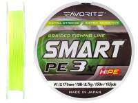 Favorite Smart PE 3X Fluo Yellow 150m