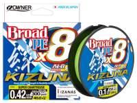 Fir textil Owner Kizuna X8 Broad 135m Super Chartreuse