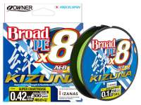 Fir textil Owner Kizuna X8 Broad 270m Super Chartreuse