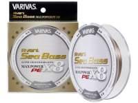 Fir textil Varivas Avani Seabass Max Power PE X8 150m Status Gold