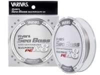 Fir textil Varivas Avani Seabass Max Power PE X8 150m Stealth Grey