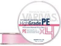 Fir textil Varivas High Grade PE X4 100m Milky Pink