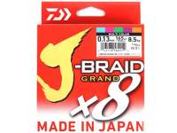 Fir textil Daiwa J-Braid Grand X8 135m Multicolor