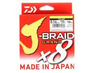 Fir textil Daiwa J-Braid Grand X8 135m Yellow