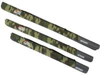 Husa Abu Garcia Semi Hard Rod Case II Woodland Camo