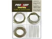Kit Cormoran Pro Carp Smart Rig Tube and Leadcore