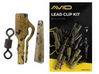 Kit plumb pierdut Avid Carp Lead Clip Kit