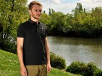 Korda Polo T-shirt Black