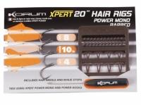 Korum Power Mono Hair Rig Barbed