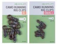 Korum Running Rig Clips Camo
