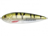 Lingurita oscilanta Sebile Onduspoon 2 95mm 16.5g Natural Perch