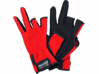 Manusi Dragon Fishing Gloves Red