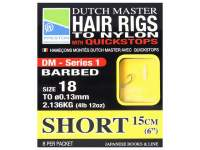 Montura Preston Dutch Master Series 1 Hair Rigs