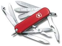 Multifunctional Victorinox Minichamp Red