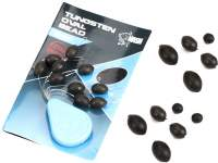 Nash Tungsten Oval Beads