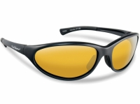 Ochelari Flying Fisherman Calcutta Black Yellow Amber Sunglasses