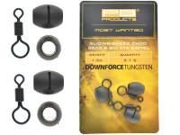 PB Products Downforce Sliding Naked Chod Bead and Big Eye Swivel
