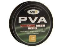 Plasa PVA solubila NGT Refill 25mm 7.00m