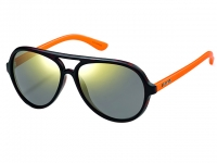 Polaroid P8401B Havana Orange Neon Sunglasses