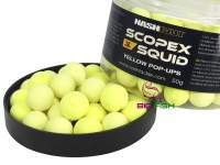 Pop-up Nash Scopex Squid Yellow
