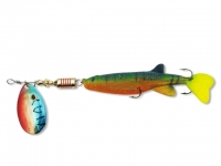 Rotativa cu Shad Zebco Minnow Flyer Green/Red