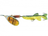 Rotativa D.A.M Minnow Yellow Black