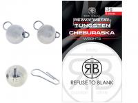 RTB Tungsten Cheburaska Weights