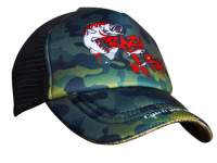 Crazy Fish Trucker Cap Camo Original Kid Size