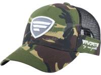 Favorite Mesh Cap Camo White Grey Logo