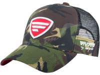 Favorite Mesh Cap Camo White Red Logo