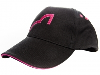 Spotted Fin Baseball Cap Pink Logo