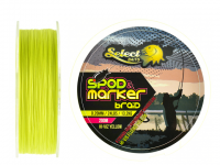Select Baits fir textil Spod and Marker X8 Braid Hi-Viz Yellow 200m