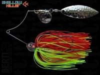 Spinnerbait Berti Shallow Killer 11g Colorado-Salcie / Red Chartreuse