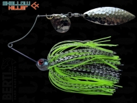 Berti Shallow Killer 11g Colorado-Salcie / White-Black Chartreuse