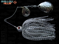 Spinnerbait Berti Shallow Killer 11g Colorado / White-Black Pearl
