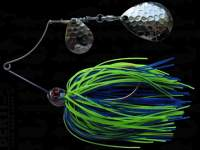 Spinnerbait Berti Shallow Killer Colorado 11g Blue-Chartreuse