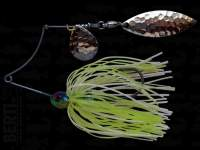 Spinnerbait Berti Shallow Killer Colorado Salcie 11g White Chart