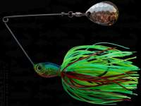 Spinnerbait Berti Skirt 11g Colorado Firetiger