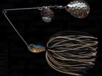 Spinnerbait Berti Skirt 14g Colorado Alb-Negru