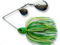 Spinnerbait Berti Skirt 14g Colorado Lime-Chartreuse