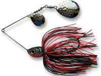 Spinnerbait Berti Skirt 14g Colorado Rosu-Negru