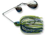 Spinnerbait Berti Skirt Colorado Colorado 14g Blue Chartreuse