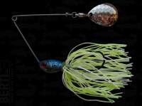Spinnerbait Berti Skirt Colorado Deep Cup 11g White Chart