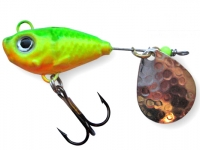 Spinnertail Berti Fishelic nr.4 Nickel / Fire Tiger
