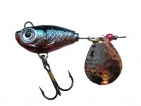 Spinnertail Berti Fishelic nr.2 Nickel / Baitfish