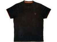 Tricou Fox Black Orange Brushed Cotton T-Shirt