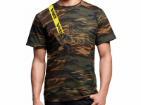 Vass Yellow Brace Camo T-Shirt