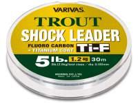 Varivas Trout Shock Leader Ti-F Fluorocarbon 30m