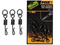 Vartejuri Fox Edges Kwik Change Heli Swivels